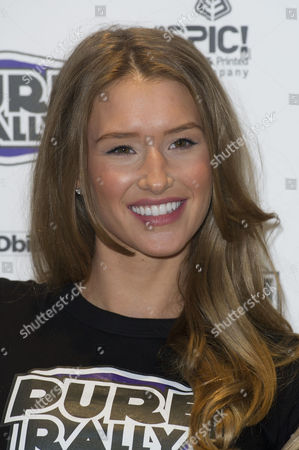 Stock Picture of Pure Rally Photocall at the Millennium Hotel Grosvenor Square Danica Thrall