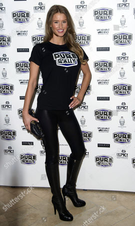 Pure Rally Photocall at the Millennium Hotel Grosvenor Square Danica Thrall