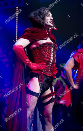 Rocky Horror Show 40th Anniversary Opening Night at the New Wimbledon Theatre Curtain Call - Oliver Thornton
