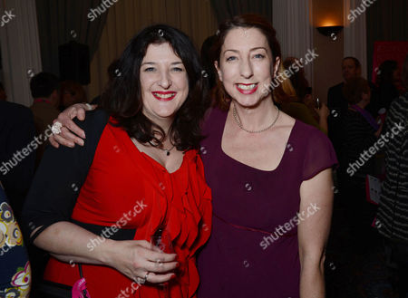 Romantic Novelists Awards in the Ballroom of the Raf Club Piccadilly Rowan Coleman and Jenny Colgan