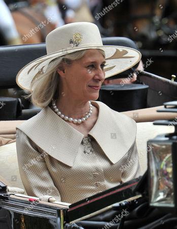 Royal Ascot Races Second Day at Ascot Racecourse Berkshire Birgitte Duchess of Gloucester