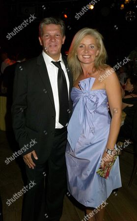 Royal Parks Foundation Gala at the Serpentine Lido Hyde Park Russ Lindsay and Sally Meen