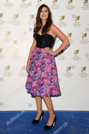 Royal Television Society Awards at the Grosvenor House Hotel Jessica Knappett