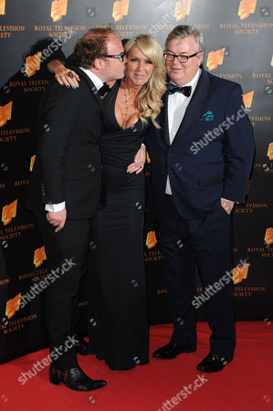 Royal Television Society Awards at the Grosvenor House Hote Celia Sawyer Gordon Watson and Alex Proud (four Rooms)