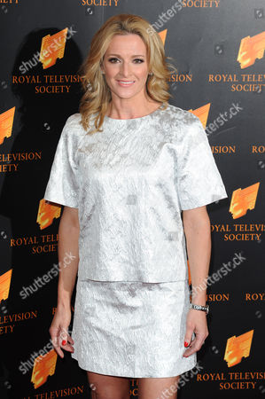 Royal Television Society Awards at the Grosvenor House Hotel Gaby Logan