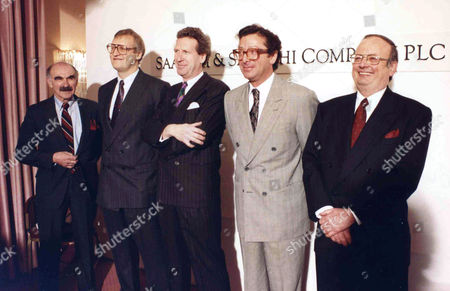 Editorial image of Saatchi and Saatchi Agm - 13 Mar 1990