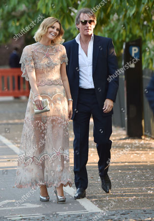 Serpentine Summer Party at the Serpentine Gallery Kensington Palace Gardens London Tim Jefferies with His Wife Malin Johansson