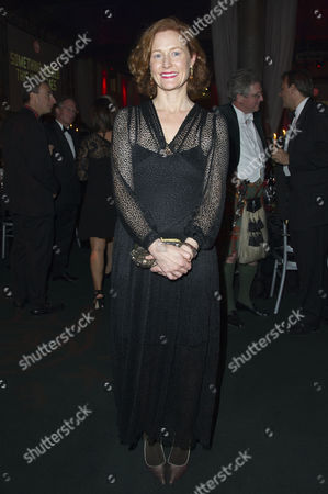 Gala Dinner to Raise Money For the New Indoor Theatre the Candle-lit Sam Wanamaker Playhouse Which Opens Its Doors For the First Time in January 2014 at Shakespeare's Globe Southwark Geraldine Somerville