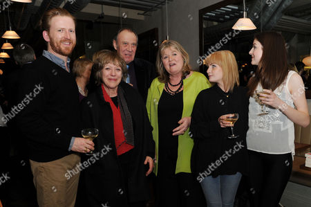 'Shopping Seduction and Mr Selfridge' Book Party at Aubaine Selfridges Tom Goodman-hill Kika Markham Lindy Woodhead Lauren Crace and Aisling Loftus