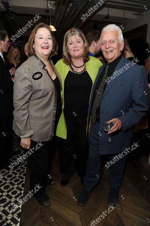 'Shopping Seduction and Mr Selfridge' Book Party at Aubaine Selfridges Shelley Von Strunkel Script Writer Andrew Davies and Author Lindy Woodhead