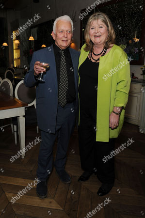 'Shopping Seduction and Mr Selfridge' Book Party at Aubaine Selfridges Script Writer Andrew Davies and Author Lindy Woodhead