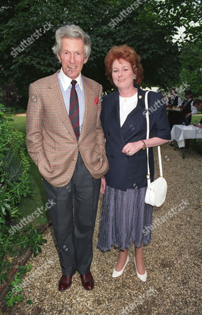 Annual Summer Garden Party in Carlyle Square Lord Patrick Lichfield with His Sister Lady Elizabeth Anson