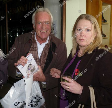 Publication Party For Smelly Dog at Burlington Arcade Mayfair London John Rendell & Lady Lucy Gormanston ( Fox)