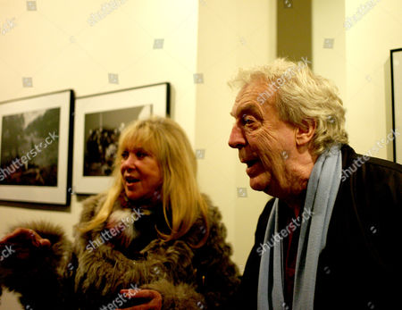 The Opening of the Sony World Photography Awards Global Tour Exhibition at Art Work Space Gallery at the Hempel Hotel Craven Hill Gardens London Patti Boyd & Sir Frank Lowe