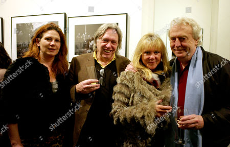 The Opening of the Sony World Photography Awards Global Tour Exhibition at Art Work Space Gallery at the Hempel Hotel Craven Hill Gardens London Martin Miller with His Wife Ioana & Patti Boyd & Sir Frank Lowe