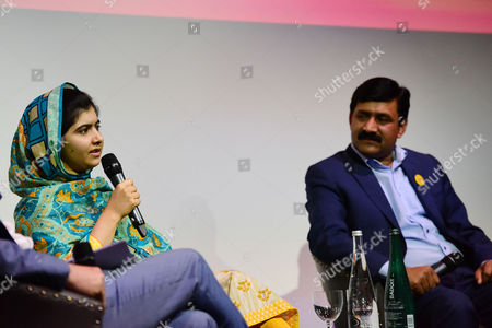 Special Screening of 'He Named Me Malala' Attended by Malala Yousafzai and Family Hosted by the Malala Fund Q&a Panel After the Filming with Malala Yousafzai and Her Father Ziauddin Yousafzai