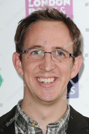 Stock Image of Specsavers National Book Awards at the Foreign Office Nathan Filer