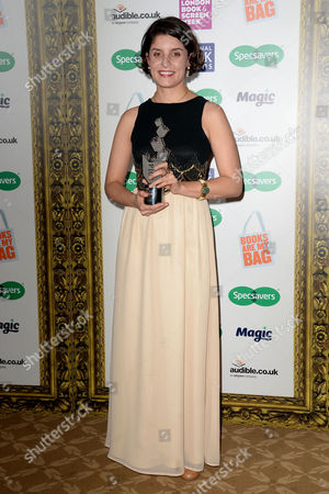 Specsavers National Book Awards at the Foreign Office Jessie Burton - Winner of the New Writer of the Year Award