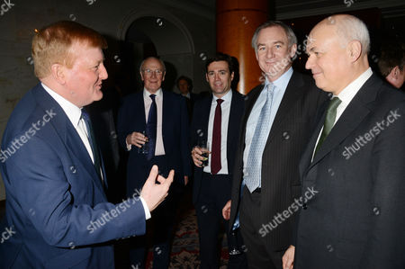 Stock Picture of the Spectator Parliamentarian of the Year Awards Charles Kennedy Menzies Campbell Andy Burnham Geoff Hoon and Iain Duncan Smith