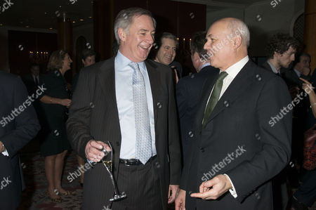 Stock Photo of the Spectator Parliamentarian of the Year Awards Geoff Hoon and Iain Duncan Smith