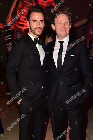 Spectre Royal World Premiere Afterparty at the British Museum Tommy Tonge and John Logan