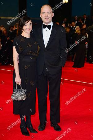 Spectre Royal World Premiere Vip Access at the Royal Albert Hall Rory Kinnear with His Partner Pandora Colin
