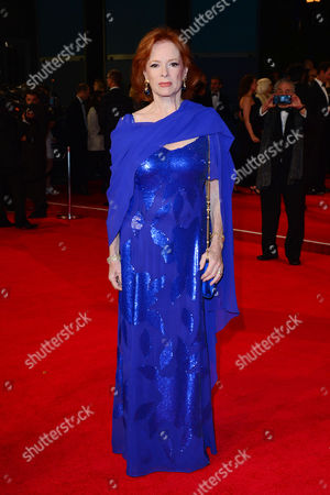 Stock Photo of Spectre Royal World Premiere Vip Access at the Royal Albert Hall Luciana Paluzzi