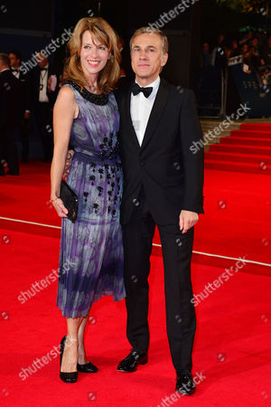 Spectre Royal World Premiere Vip Access at the Royal Albert Hall Christoph Waltz with His Wife Judith Holste