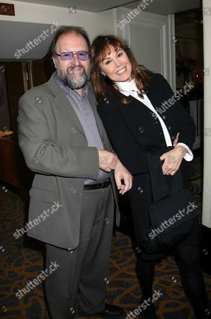 Evening Standard Drama Awards at the Savoy Hotel the Strand London Duncan Weldon & Anne Sidney