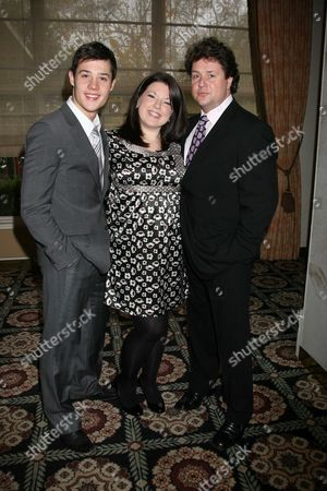Evening Standard Drama Awards at the Savoy Hotel the Strand London Ben James-ellis; Leanne Jones; Michael Ball