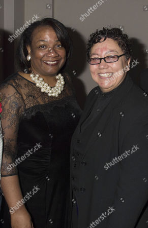 Stonewall Awards 2013 at the V&a Diane Abbott Rena Brannan