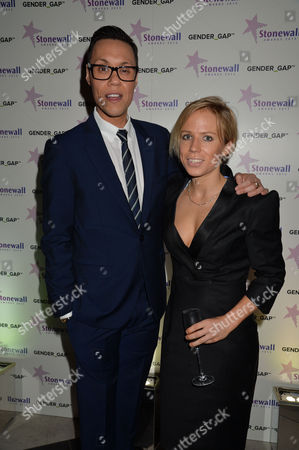 Stonewall Awards 2013 at the V&a Gok Wan and Clemmie Moodie