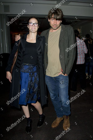 Stock Photo of 'Sunshine On Leith' Screening at Bafta Piccadilly Alex James with His Wife Claire Neate