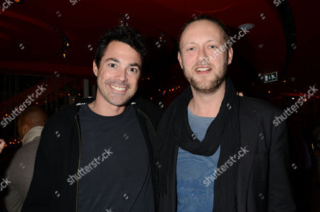 Stock Picture of Sushisamba Grand Opening at Heron Tower Bishopsgate Lucas White and Ed Spencer Churchill