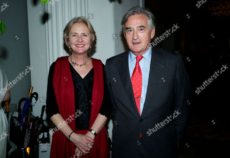 Tank Watch Collection Past Present and Future at the Orangery Kensington Palace Gardens Antony Beevor with His Wife Artemis Cooper