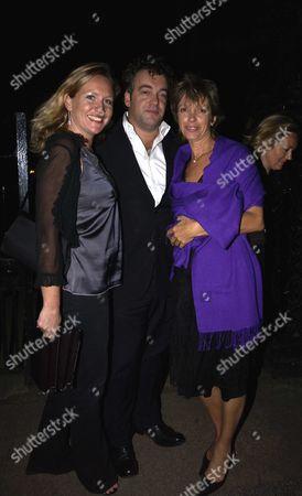 Sabrina Guinness and Imogen Edward Jones with Her Husband Kenton Allen