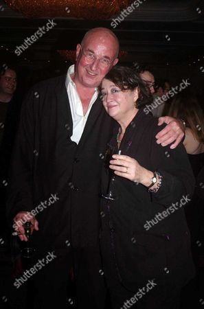 The 2004 Tatler Resturant Awards at the 4 Seasons Hotel Hamilton Place London Fay Maschler with Her Husband