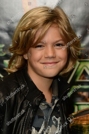 Stock Photo of Teenage Mutant Ninja Turtles Gala Screening at the Vue Leicester Square Harry Hickles