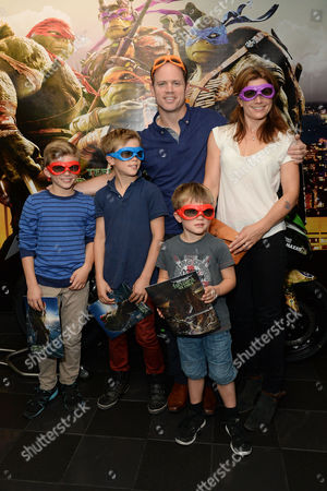 Teenage Mutant Ninja Turtles Gala Screening at the Vue Leicester Square Kyran Bracken