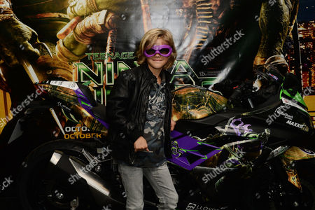 Teenage Mutant Ninja Turtles Gala Screening at the Vue Leicester Square Harry Hickles