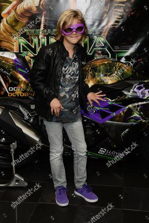 Teenage Mutant Ninja Turtles Gala Screening at the Vue Leicester Square Harry Hickles