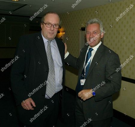 the 2007 Conservative Party Conference in Blackpool News International Party at the Hilton Hotel Michael Ancram and Alan Duncan