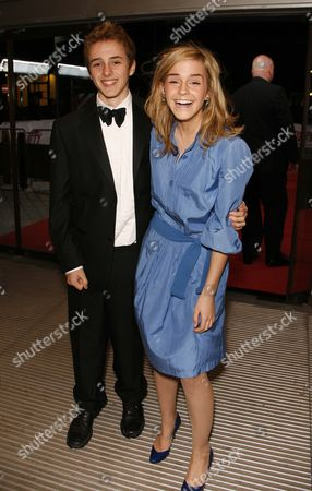 the 2007 National Movie Awards at the Royal Festival Hall Emma Watson with Her Brother Alex