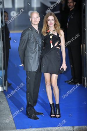 The Ark Charity Dinner at Waterloo Eurostar Station Waterloo London Lord Justin Portman with His Wife Natalia Vodianova