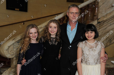 'The Audience' Press Night Afterparty at the Royal Horseguards Hotel Whitehall Nell Williams Bebe Cave Maya Gerber with Stephen Daldry