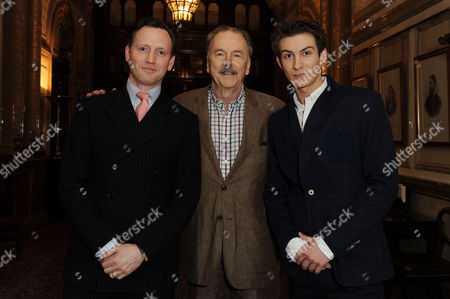 'The Audience' Press Night Afterparty at the Royal Horseguards Hotel Whitehall Rufus Wright Michael Elwyn and Matt Plumb