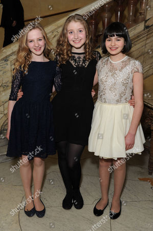 'The Audience' Press Night Afterparty at the Royal Horseguards Hotel Whitehall Nell Williams Bebe Cave Maya Gerber