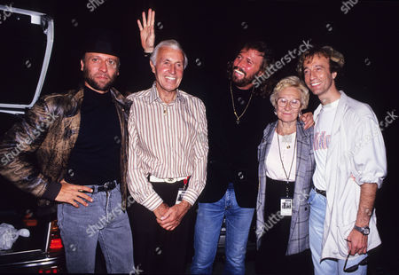 Editorial image of The Bee Gees 'One For All' Tour - 31 Aug 2006