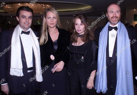 the British Red Cross Ball - 'A Tribute to America' at the Park Lane Hilton Francesco Moncada Di Paterno and Isabella Borromeo Princess Sylvie D'arenberg and Prince Pierre D'arenber
