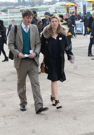 the Cheltenham Festival Ladies Day at Cheltenham Racecourse Harry Lopes & Sara Parker Bowles